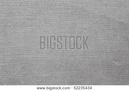 Old Grey Fabric Texture Background