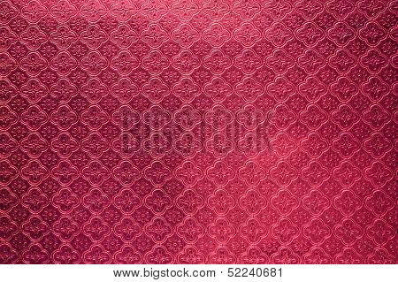 Red Tiled Glass