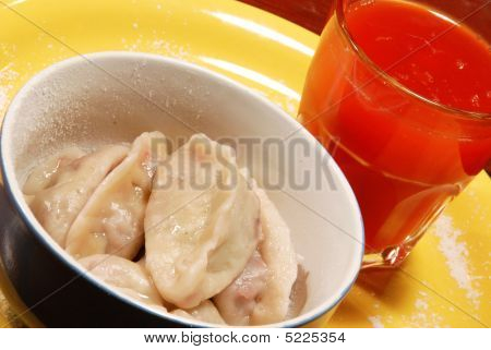 Dumplings With Cherries