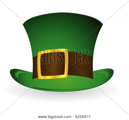 Patrick;s Hat. Vector Illustration