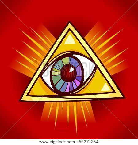 Eye Of Providence Illustration