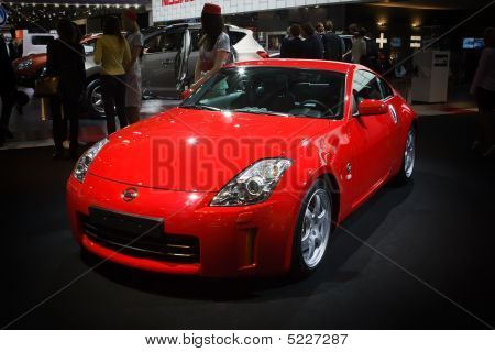 Moscow, Russia - 28 August, 2008: Nissan Z At Moscow International Exhibition Motorshow 2008, Moscow