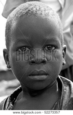 Portrait Of A Boy in Gulu Uganda