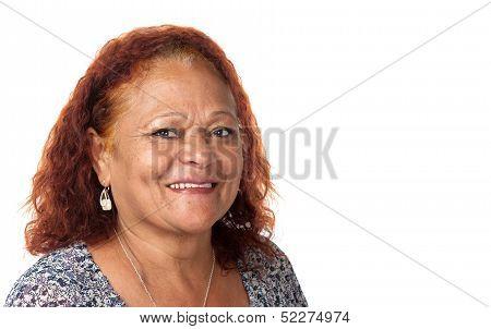 Happy Mature Woman