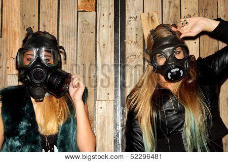 Women With Gasmasks