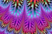 abstract background with the bright pattern of multicolored shimmering geometric mosaic. poster