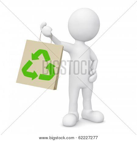 Green shopping 3D