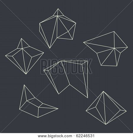 Contours Of Geometrical Figures