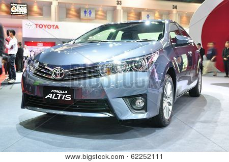 Nonthaburi - March 25:toyota Alits On Display At The 35Th Bangkok International Motor Show On March