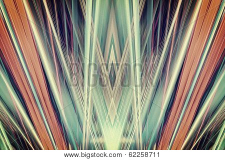 Art Deco Spotlights Background