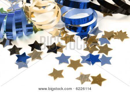 Confetti  With Streamers