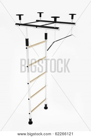 Home Sports Equipment Isolated
