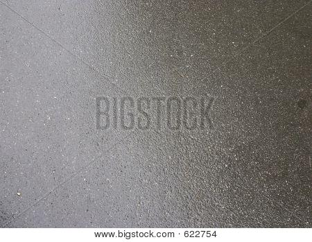 Wet Plain Asphalt