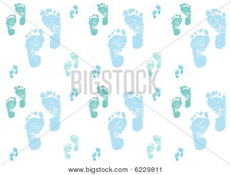 Larger Baby Feet