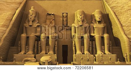 Temple Of Abu Simbel