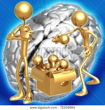3D Idea Theif Concept