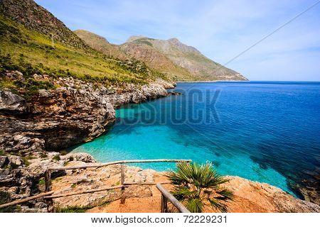 Sicilian shore