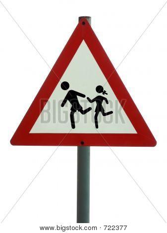Road Sign - Children Ahead