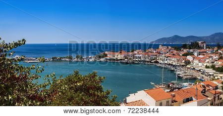 View Of The Port Of Pythagoreio, Samos, Greece