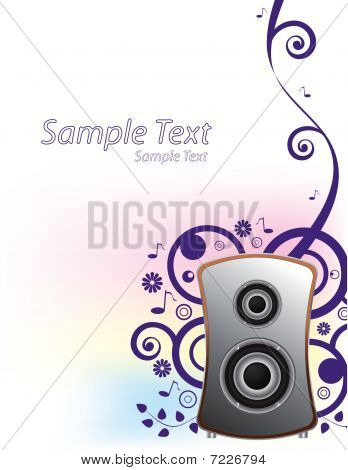Music background,vector