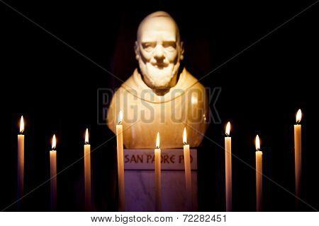 Padre Pio Statue