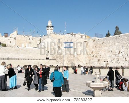 Jerusalem Western Wall 2008