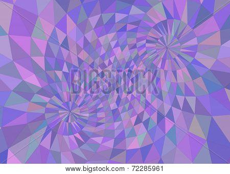 Multicolored Purple Tinted Geometric Background
