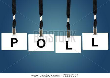 Political Poll Word