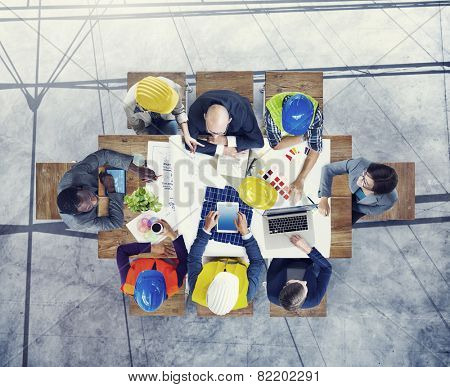 Brainstorming Planning Partnership Strategy Workstation Business Adminstration Concept