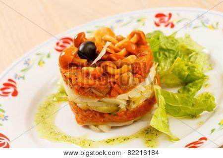 vegetarian salad