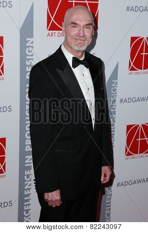LOS ANGELES - JAN 31:  Jim Bissell at the 19th Annual Art Directors Guild Excellence in Production Design Awards at a Beverly Hilton Hotel on January 31, 2015 in Beverly Hills, CA