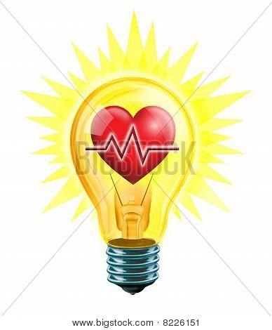 EKG Heart idea