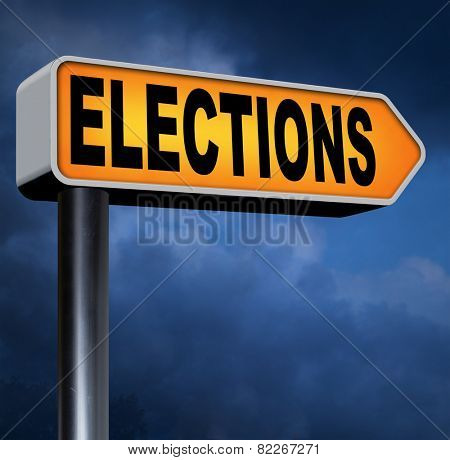 elections to get new government or president free election for new democracy local national voting poll  poster