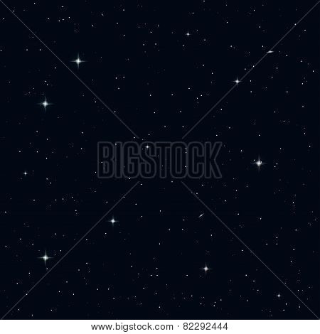 Seamless Night Sky