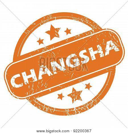 Changsha round stamp