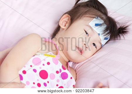 Sick Little Asian Girl