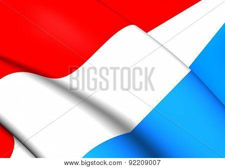 Flag Of Luxemburg