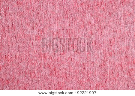 Pink Nonwoven Fabric Background