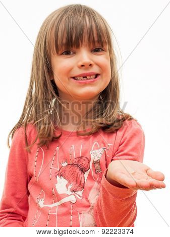Child Has Lost Incisor