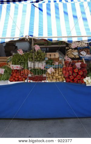 Shelf Of Vegetables