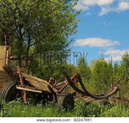Old Rack Wagon