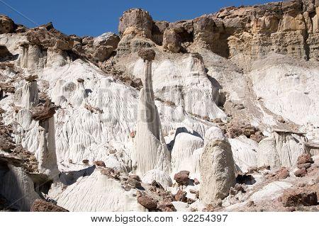 Wahweap Hoodoos, Utah, Usa