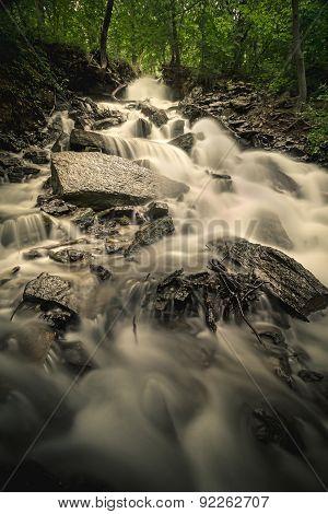 Kansas City Area Waterfall
