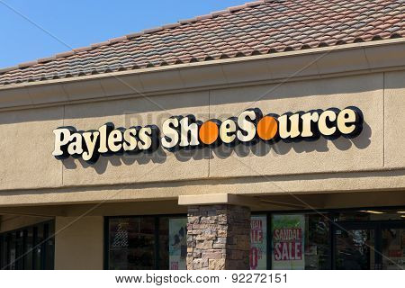 Payless Shoe Source Exterior