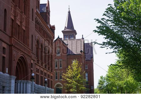 Historic  buildings on campus University of Vermont
