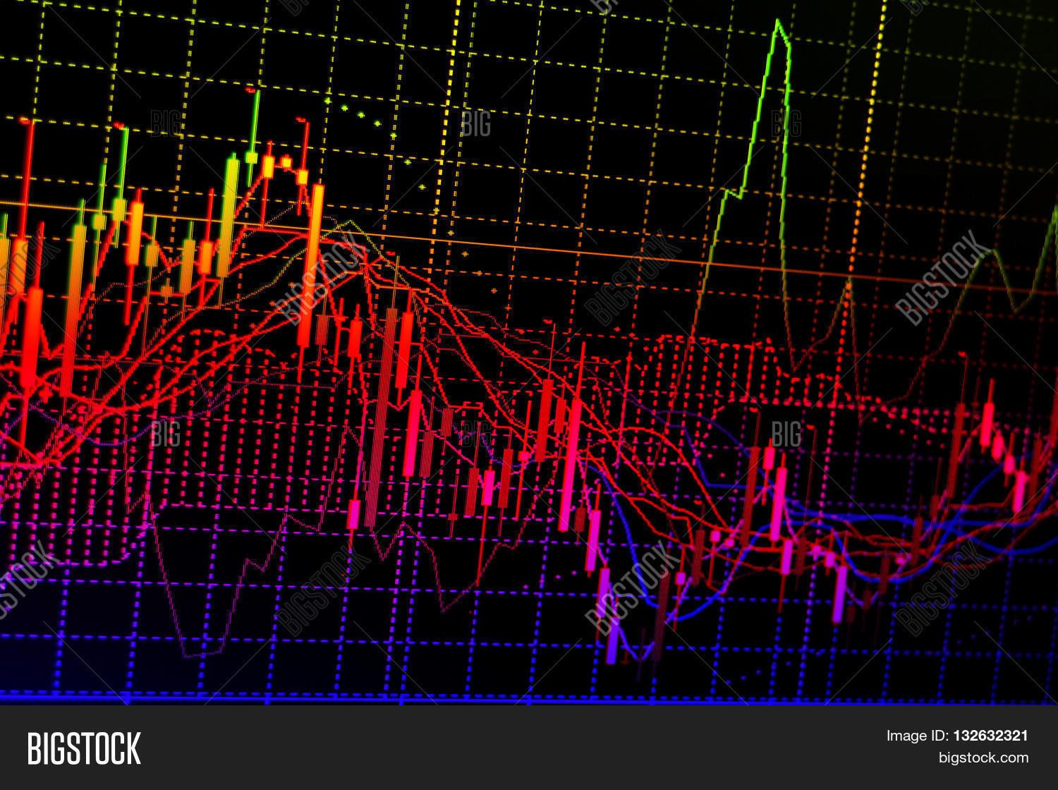 charts quotes on image photo free trial bigstock