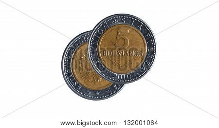 Five Bolivian Pesos