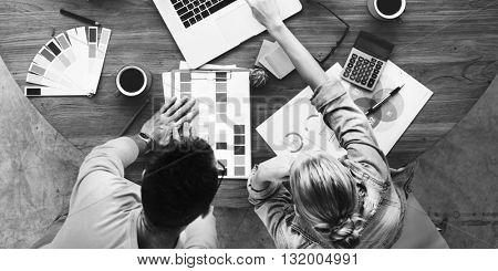 Business People Creativity Design Studio Ideas Concept