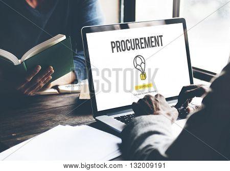 Procurement Distribution Purchase Cooperation Concept