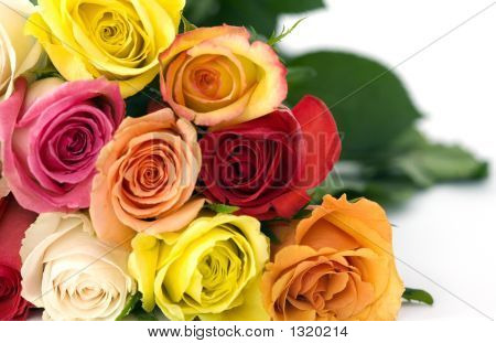 Bouquet Of Roses, Up Close, Promotes Love